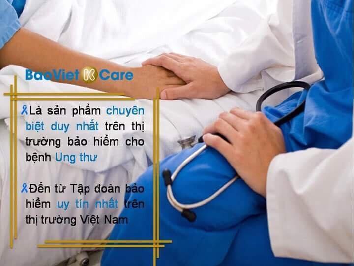 bảo hiểm ung thư Kcare