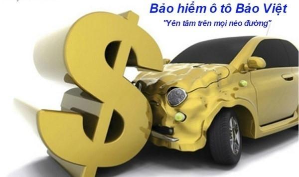 Biểu phí bảo hiểm xe ô tô Bảo Việt
