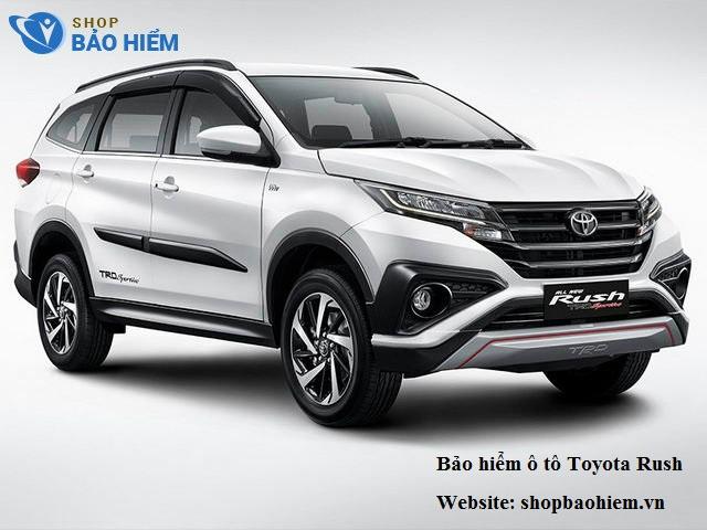 Bảo hiểm ô tô Toyota Rush