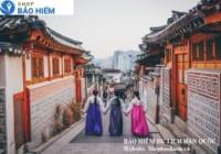 Bảo hiểm du lịch Hàn Quốc