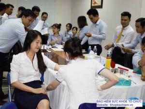 bảo hiểm sức khỏe tổ chức