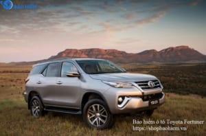 Bảo hiểm ô tô Toyota Fortuner