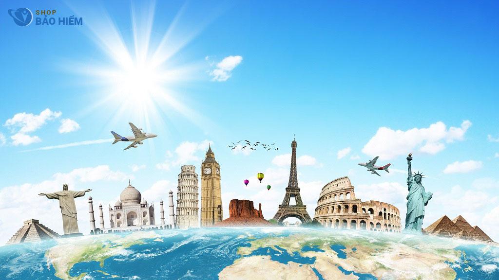 có nhiều gói bảo hiểm du lịch đến các nước khác nhau