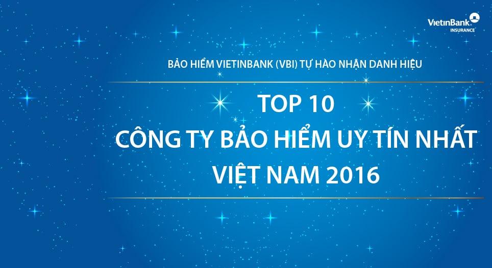 vbi top 10 cong ty bao hiem uy tin