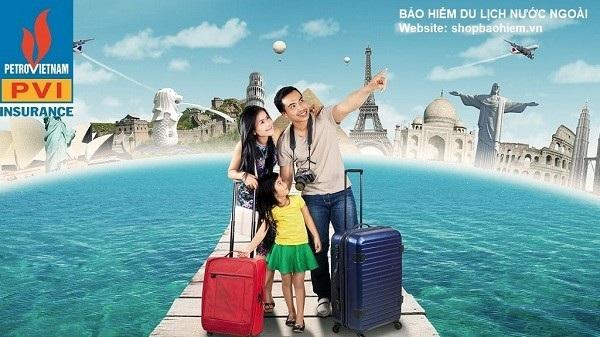 Bảo hiểm PVI dành cho khách hành đi du lịch quốc tế