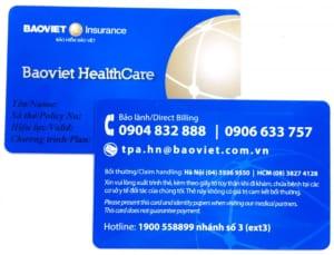 thẻ bảo hiểm sức khỏe tự nguyện